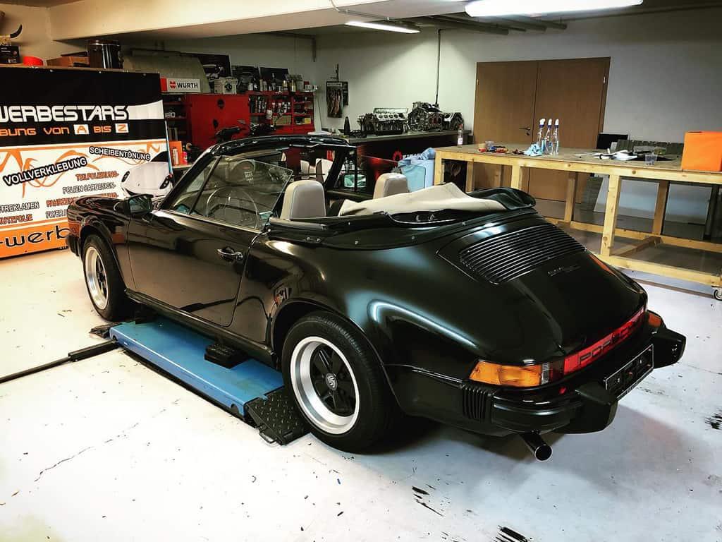 Car Wrapping - Porsche Hinten